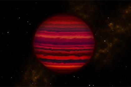 Накоричневом карлике запределами Солнечной системы найдены водяные облака