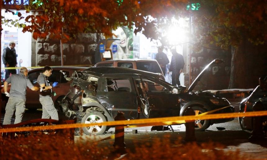 МВД Грузии сообщило ораскрытии дела овзрыве машины Таргамадзе