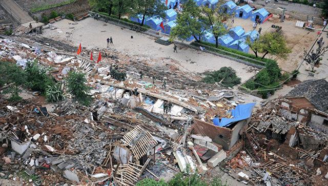 ВКитайской республике из-за схода оползня погибли 18 человек