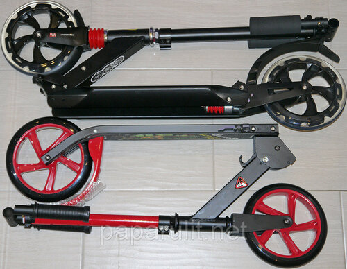 Сравнение самокатов Urban Scooter и SunColor Scooter