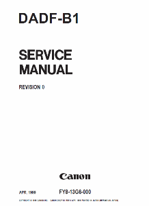 service - Инструкции (Service Manual, UM, PC) фирмы Canon 0_1b106d_ef958bcf_orig