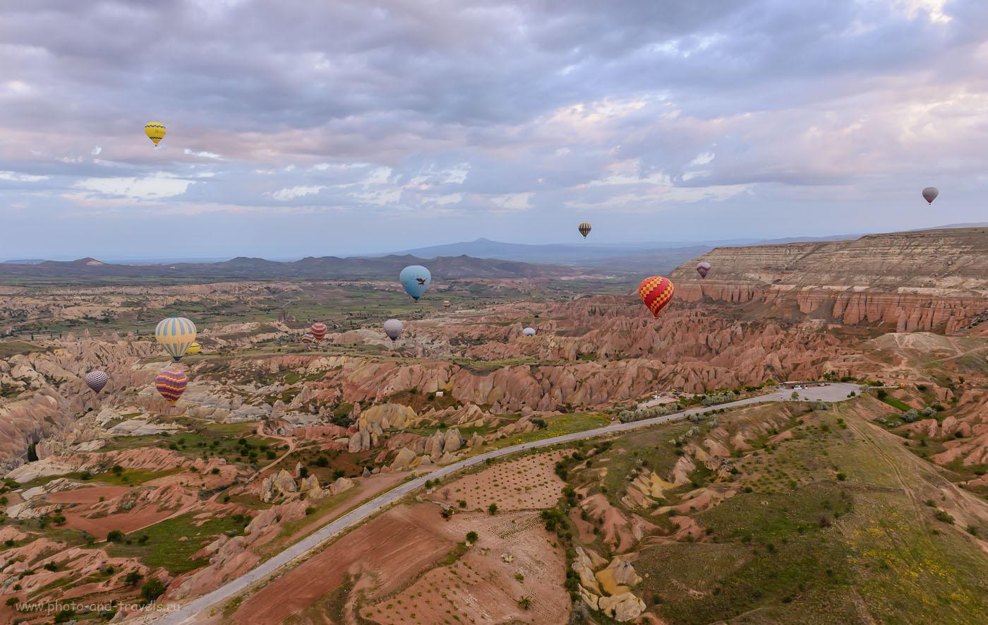 Фотография 12. Полет на воздушном шаре над Каппадокией. Отзывы туристов об экскурсиях в Турции. 1/125, -0.67, 8.0, 800, 24