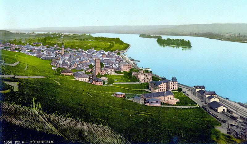 Рюдесгейм-на-Рейне, конец XIX века