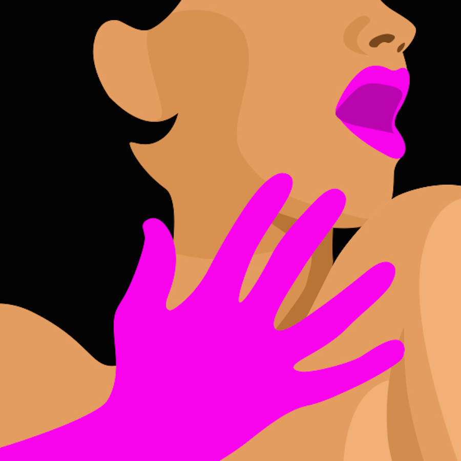 Striking & Colorful Erotic Illustrations