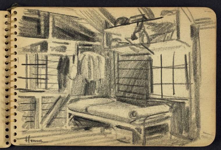 Quand un jeune soldat de 21 ans dessinait la Seconde Guerre Mondiale