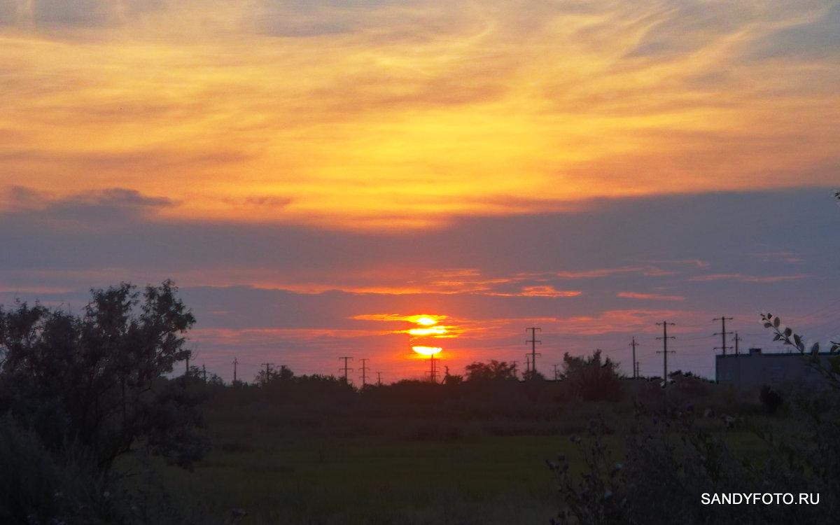 Очередной закат в солнечном Троицке