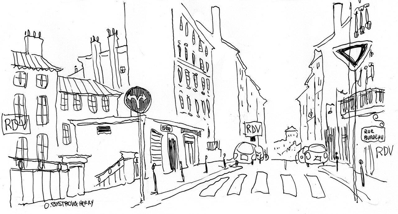 Lyon. Rue Burdeau 2