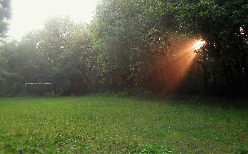 Луч солнца золотого Тьмы скрыла пелена.