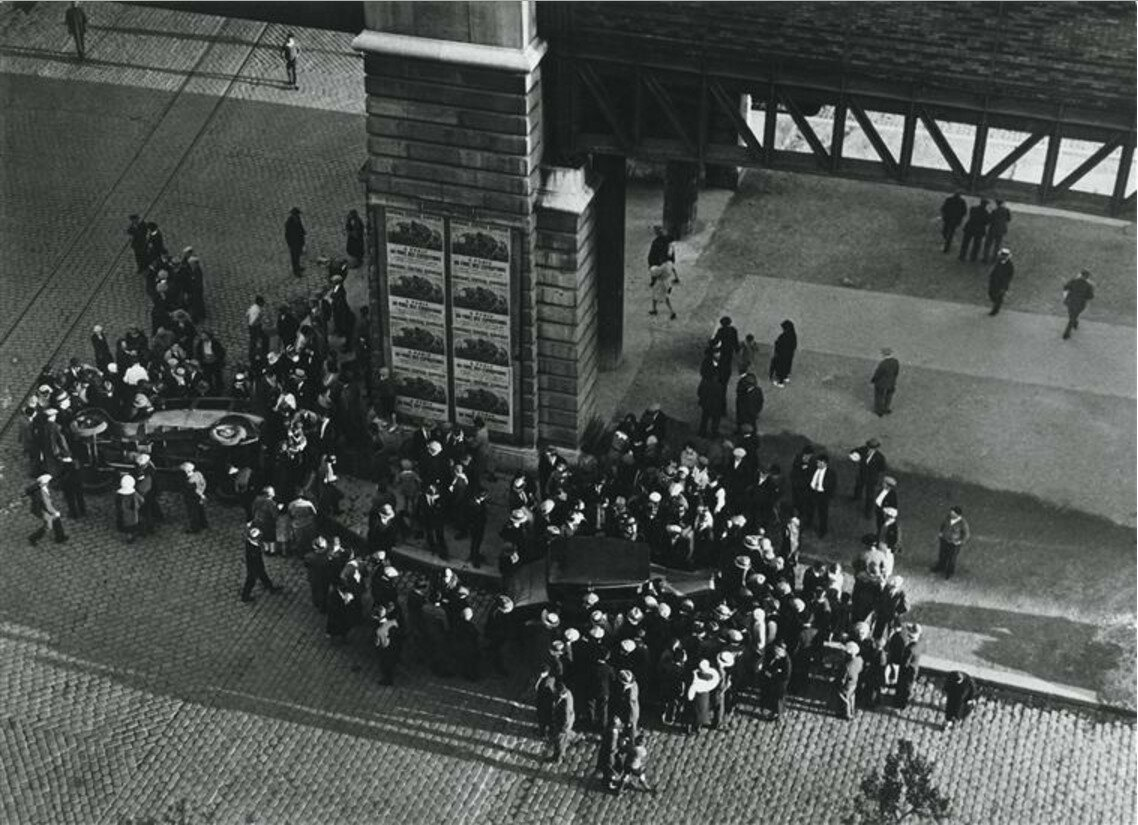 1931. Автокатастрофа