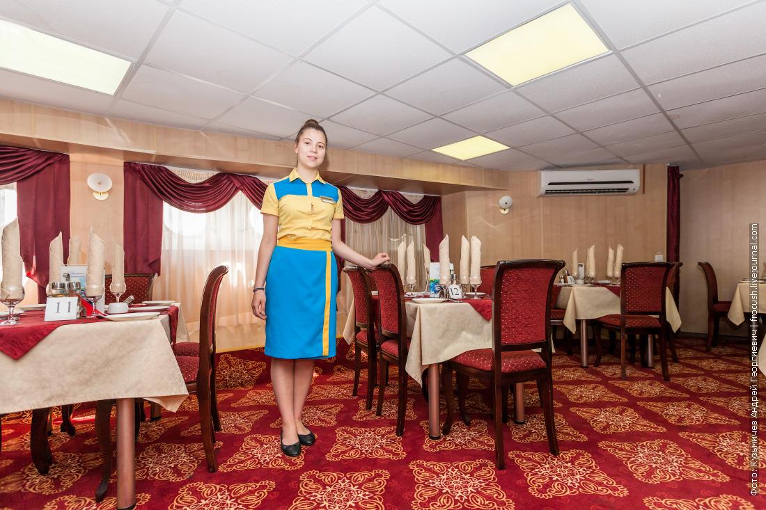 описание солнечный город теплоход ресторан на главной палубе