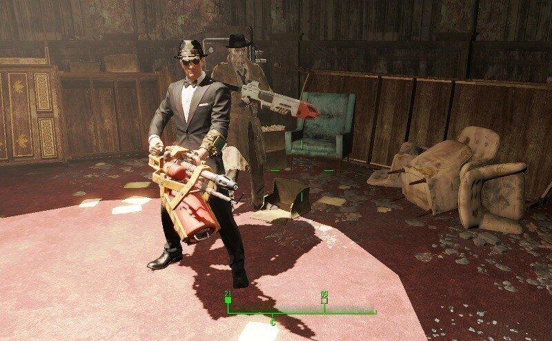 Fallout-4 перед встречей с Келлогом