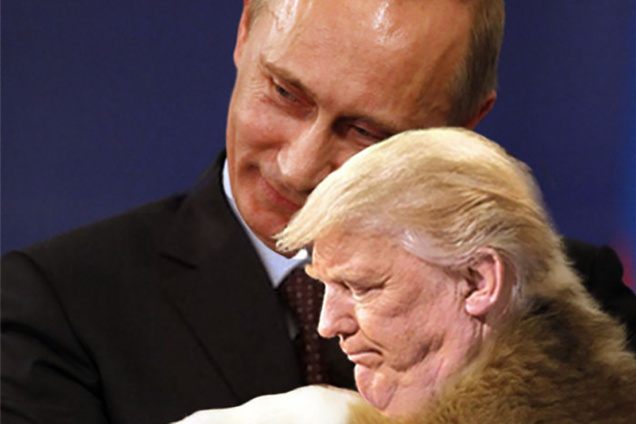 Когда президент просит убрать неудачное фото с двойным подбородком