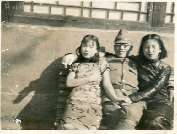 Психологическая разгрузка японского солдата