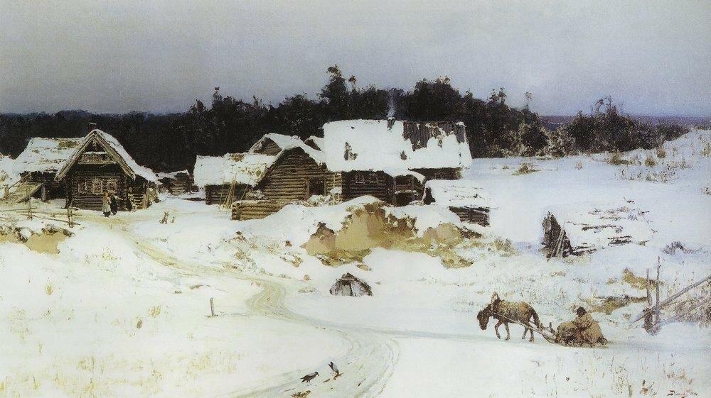 Зима. Имоченцы. 1880.jpg