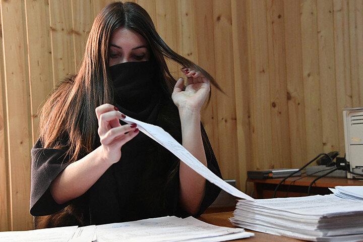 Мара Багдасарян на работе в ГБУ `Жилищник`