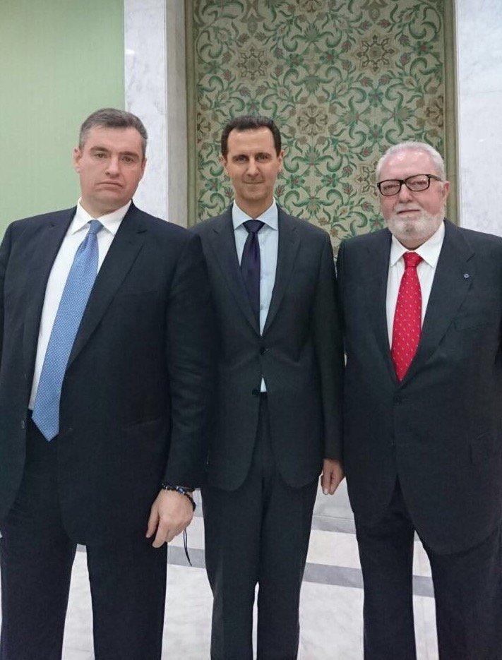 Педро, Асад, Слуцкий
