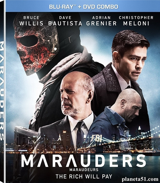 Налетчики / Marauders (2016/BDRip/HDRip)