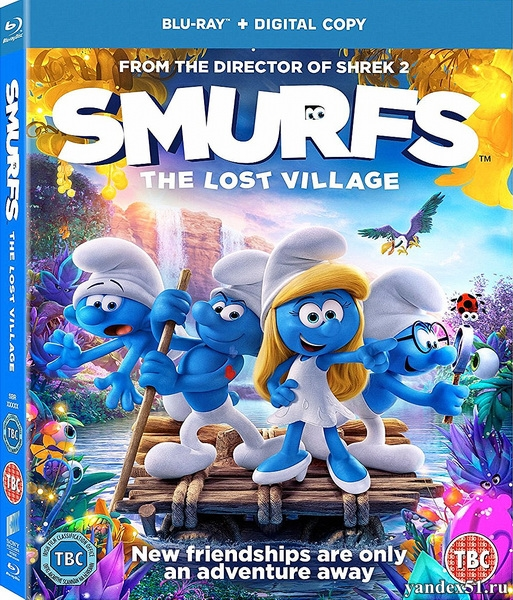 Смурфики: Затерянная деревня / Smurfs: The Lost Village (2017/BDRip/HDRip)