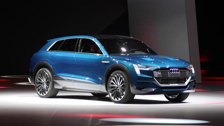 Audi начал прием заказов наэлектрокар E-Tron Quattro 2018
