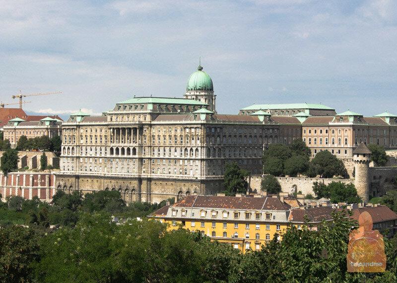 Музей истории Будапешта расположен в Королевском замке