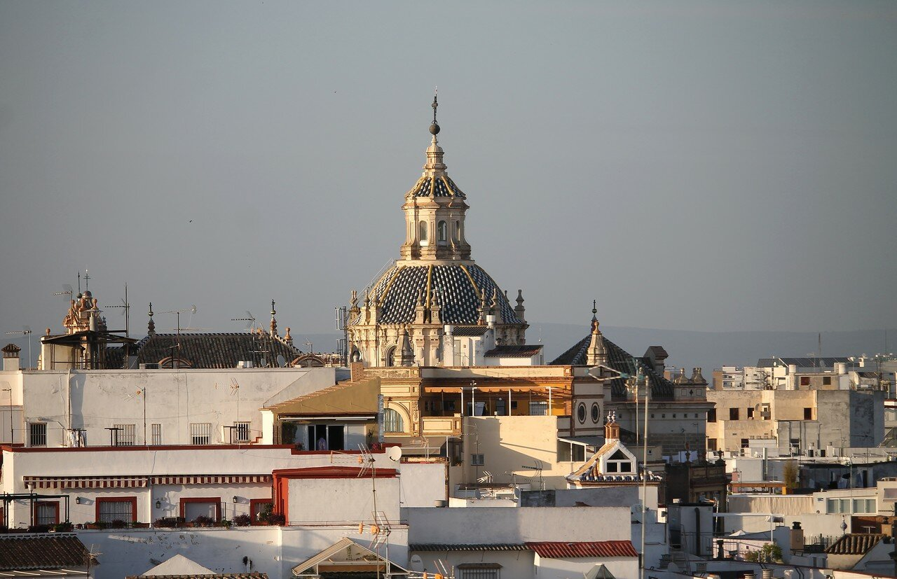 View from Cathedral rooftop