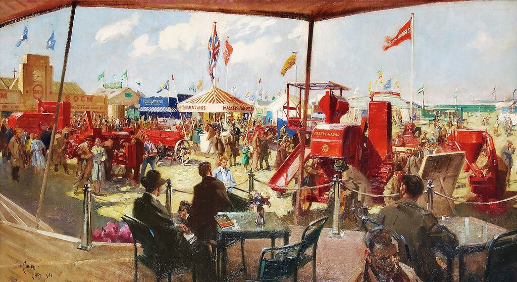 Terence Cuneo - Royal Show, 1951 - Festival of Britain Year