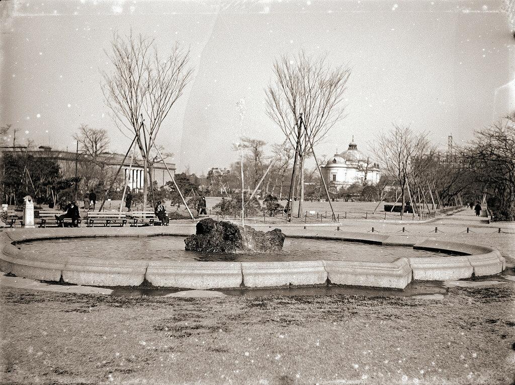 Ueno Park Fountain, 1930s Japan.
