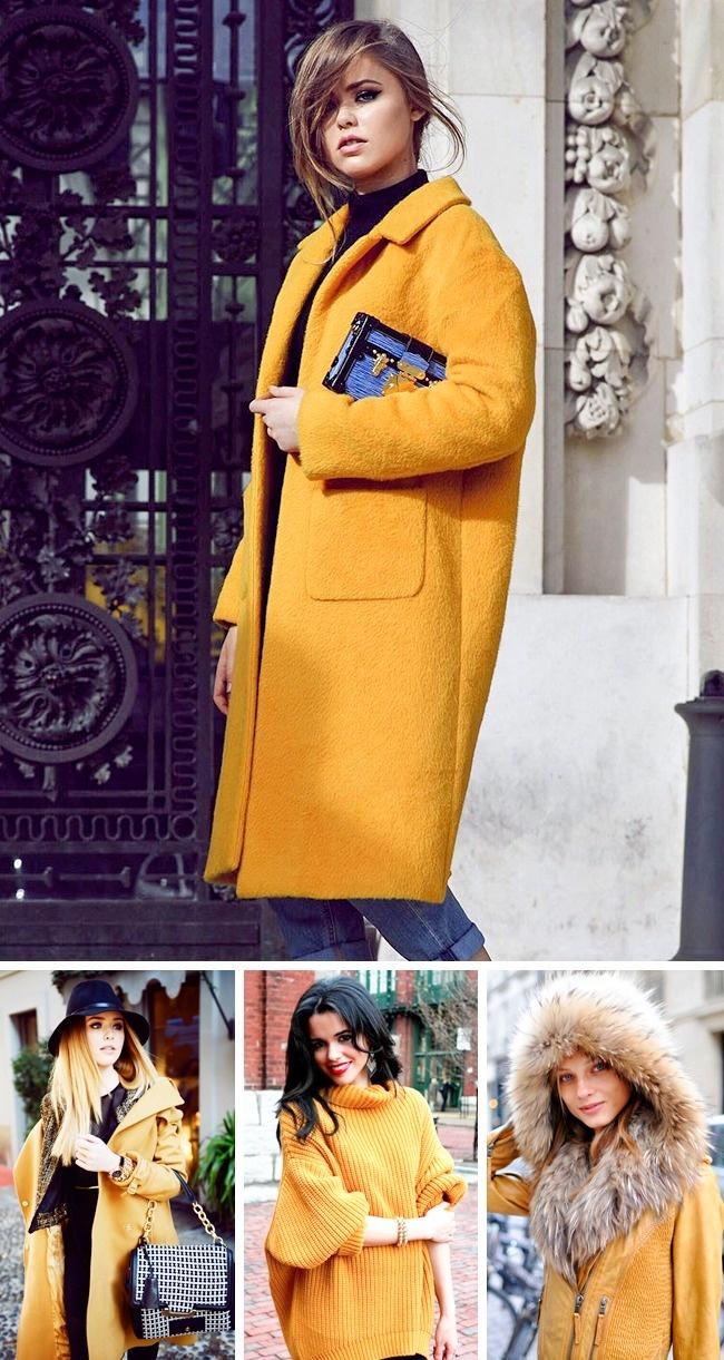 Приглушенный цвет «пряный горчичный» ( Spicy Mustardpantone ) вносит вовсю модную палитру сезона не
