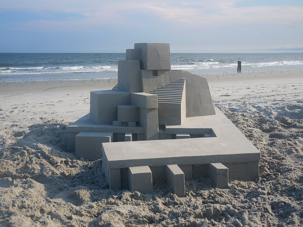 Замки из песка от профессионального архитектора (11 фото)