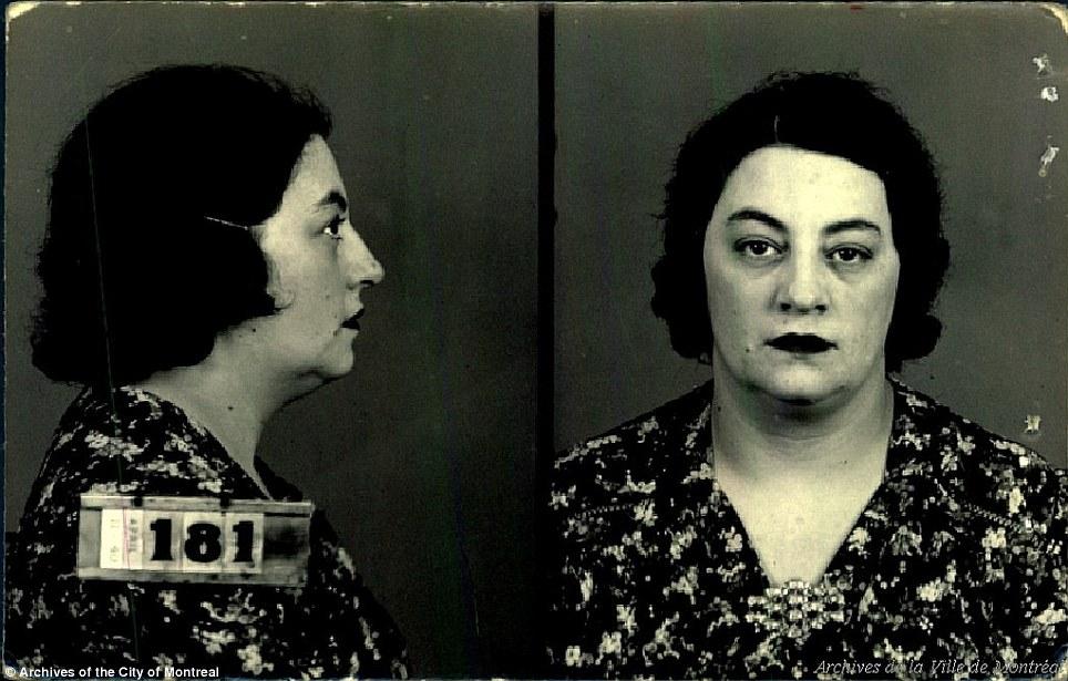 На фото: Жанин Лебрун, по профессии горничная, была арестована за содержание борделя. Однако даже бо