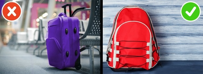 © depositphotos  © depositphotos  Путешествие без багажа— отличный способ сэкономить, п