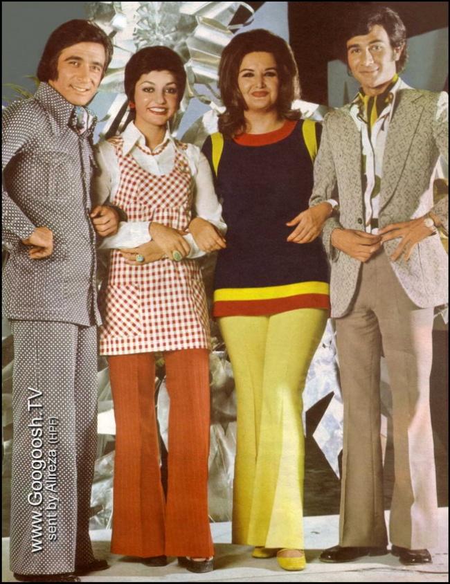 Иранские поп-певцы до Исламской революции 1979 года.