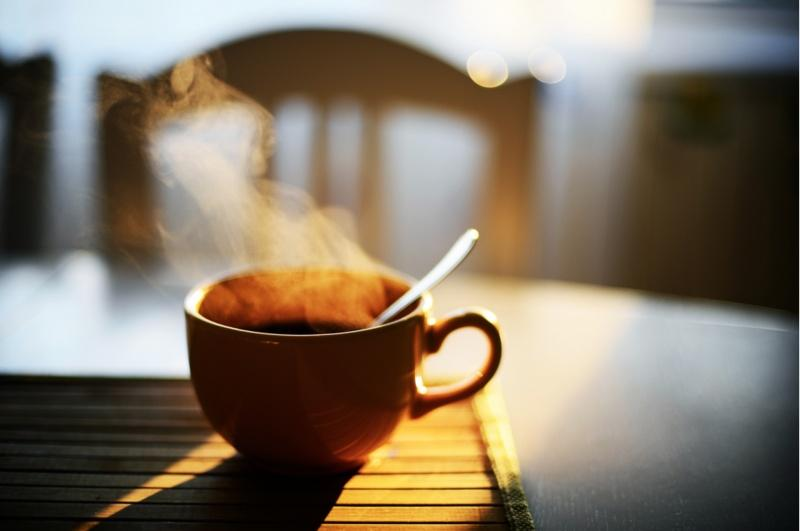 2. Или попить горячий чай