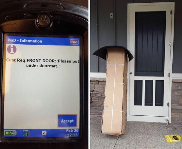 Когда почтальон — не Печкин: эпические промахи службы доставки (22 фото)