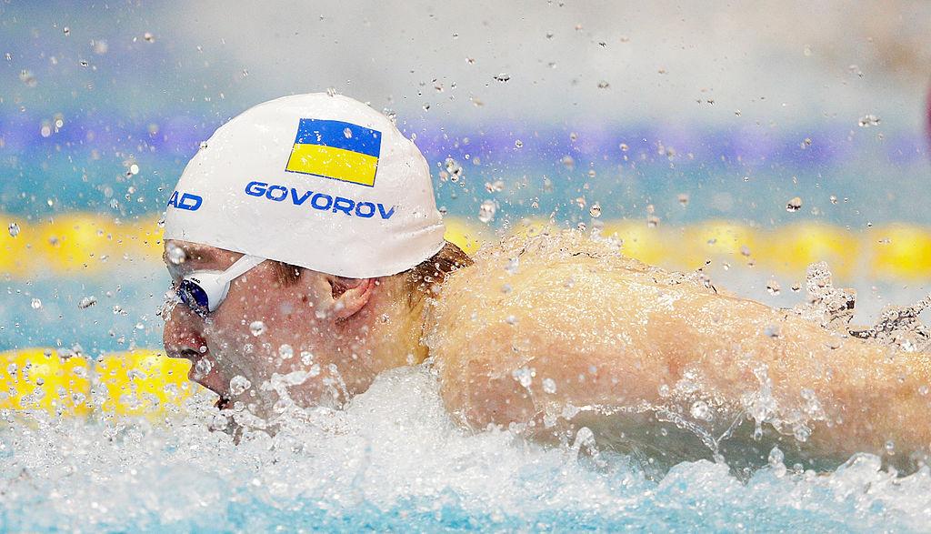 Американский пловец Эрвин взял золотоОИ надистанции 50 метров кролем