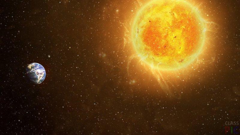 ВNASA показали завораживающее видео «дырявого» солнца