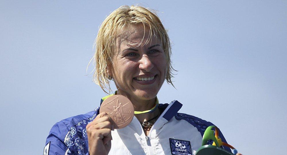 После выступлений заАзербайджан олимпийская чемпионка решила вернуться всборную Украинского государства