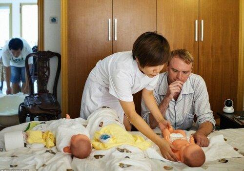Когда папы становятся мамами...
