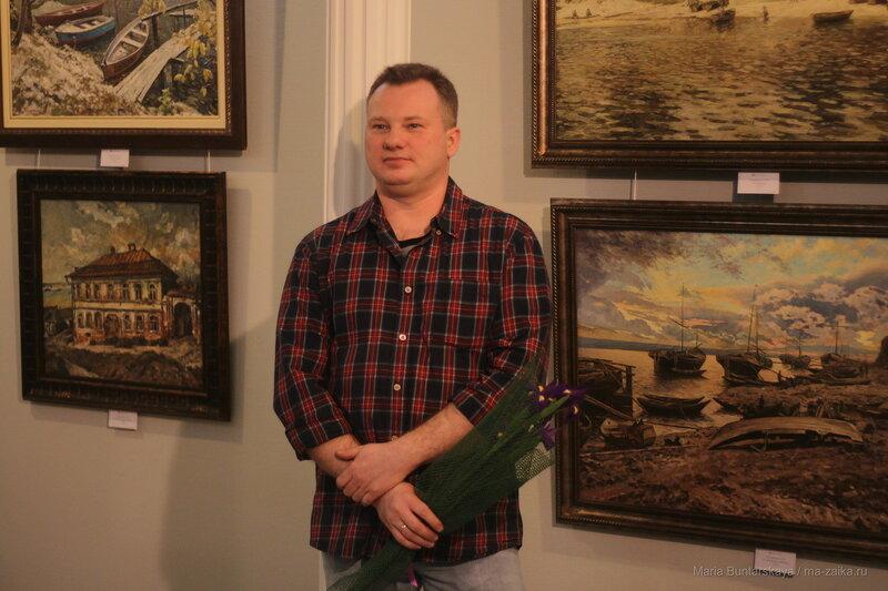 На Волжских берегах, Саратов, галерея 'Эстетика', 16 февраля 2017 года