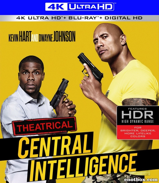 Полтора шпиона / Central Intelligence (2016/BDRip/HDRip)