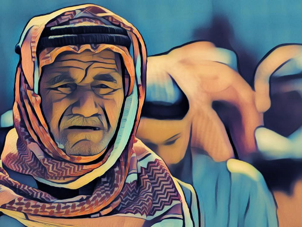 старик из Ирака