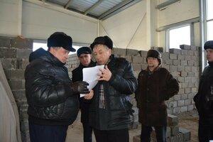 17 февраля в рамках рабочего визита, Министр физической культуры и спорта Забайкальского края Михаил Радченко, посетил  строящийся бассейн в городе Борзя