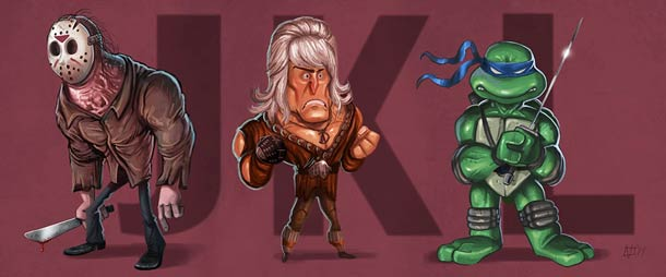 The Ultimate Pop Culture Alphabet - par Jeff Victor