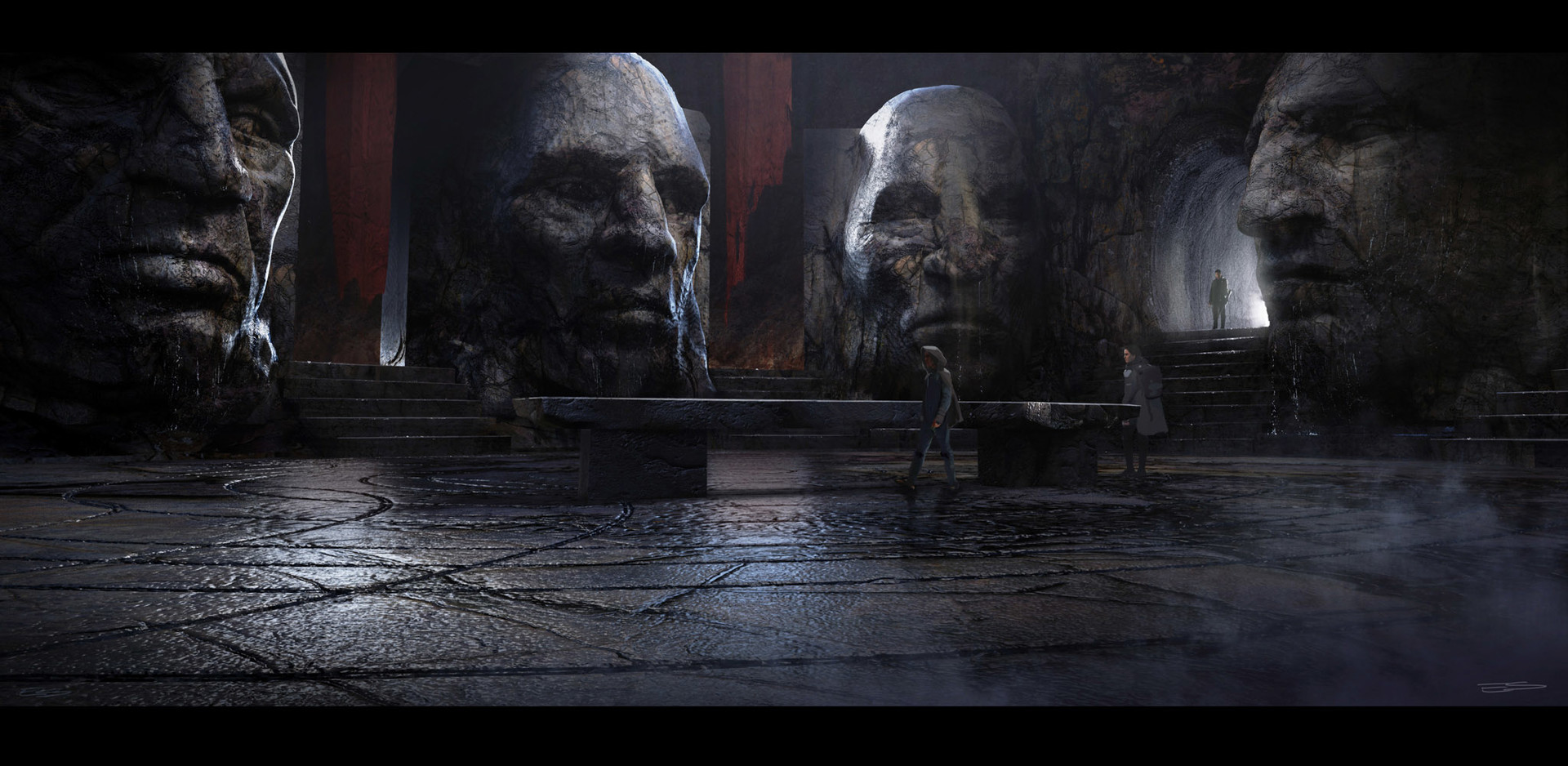 Alien: Covenant Concept Art by Ev Shipard