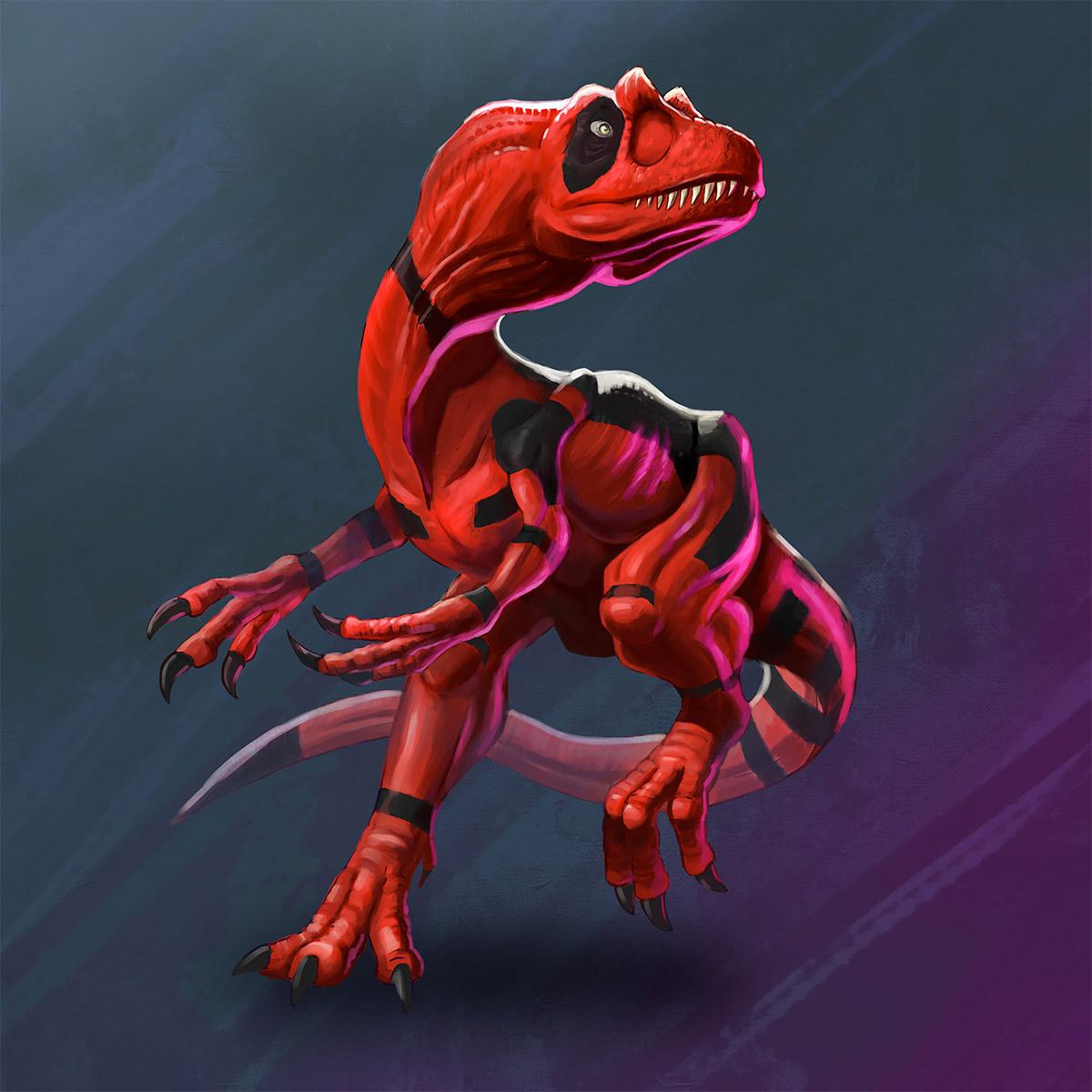 Dinosaur Heroes & Villains: Illustrations by Kolby Larsen (11 pics)