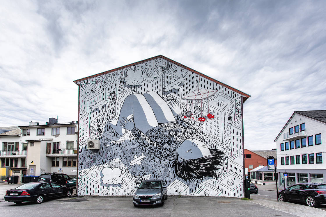 Power of imagination - Les dernieres creations street art de Millo