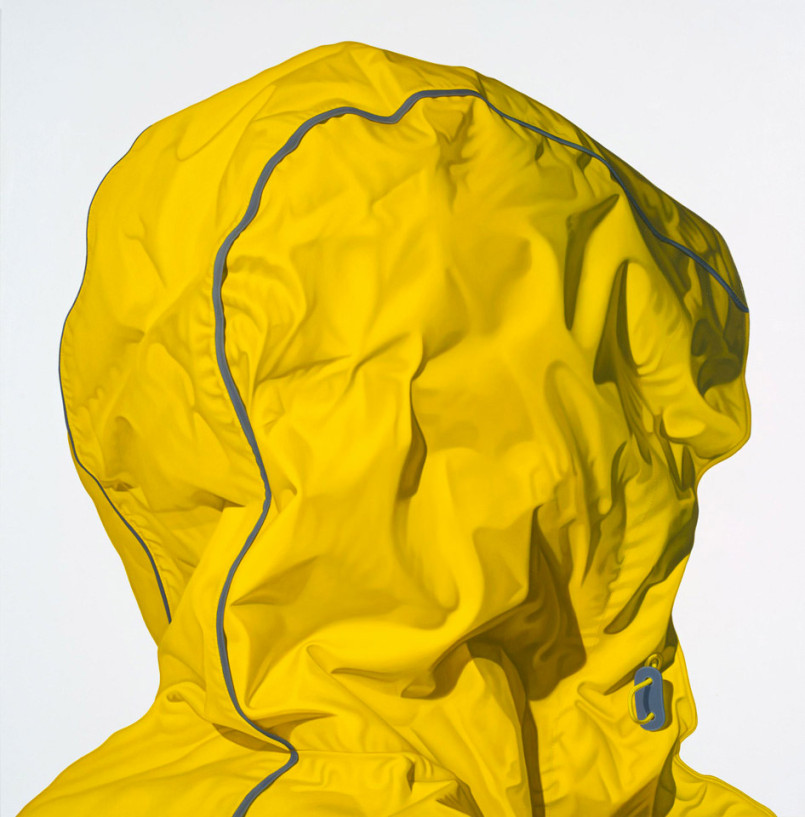 Hooded Figures: Hyper-Realistic Paintings by Karel Funk