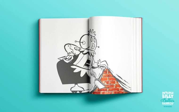 Banksy Cartoons - Revisiter les oeuvres de Banksy avec des cartoons