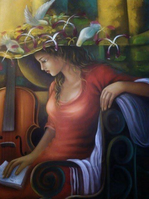 Sergio Martinez_paintings_Honduras _artodyssey