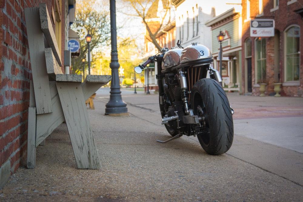 Кафе рейсер Harley-Davidson Sportster Organic Cafe